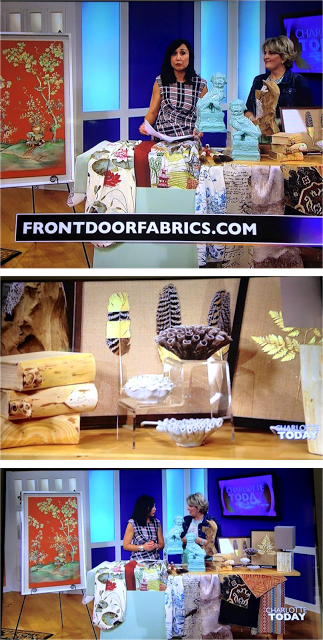 Front Door Featured: Charlotte Today talking Home Decor Trends!