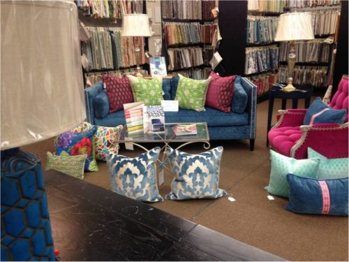 Front door fabrics and interiors front door featured for Fabric store charlotte nc