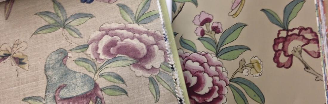 New Thibaut Wallpaper and Fabric Books
