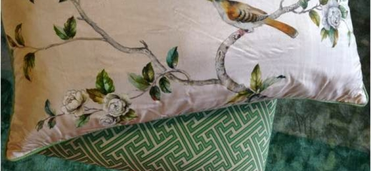Summer Inventory: Hand Painted Pillows