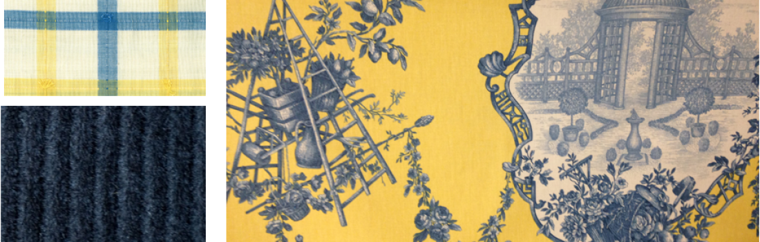 From the Designer's Desk: Classic Blue and Yellow