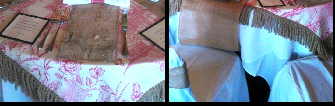 Decorative Tablescape