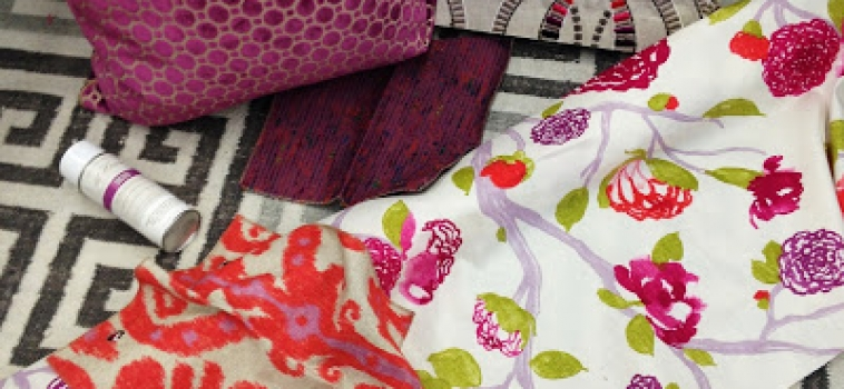 From the Designer's Desk: Coral and Orchid
