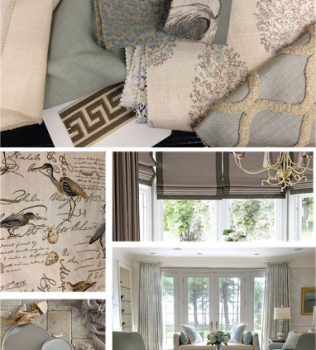 From the Designer's Desk: Neutral Blues and Nature Inspired